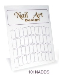 Nail Art Design Counter Display Stand