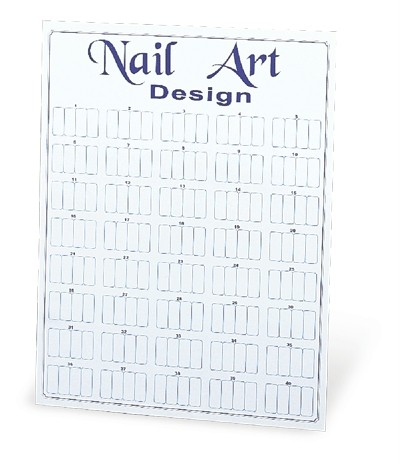 Nail Art Wall Displays