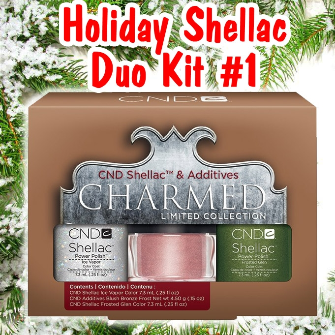 CND Shellac Charmed Kit 1