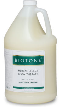 Herbal Select Body Therapy Massage Oil 1 Gallon
