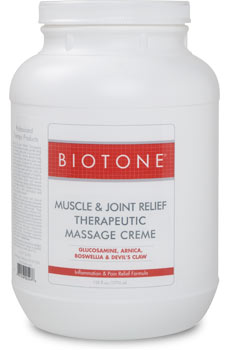 Muscle & Joint Therapeutic Massage Creme 1 Gallon